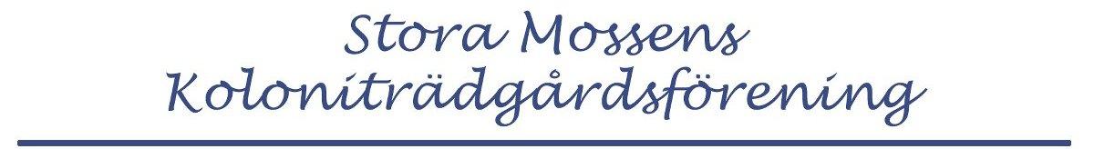 Stora Mossens Koloniträdgårdsförening